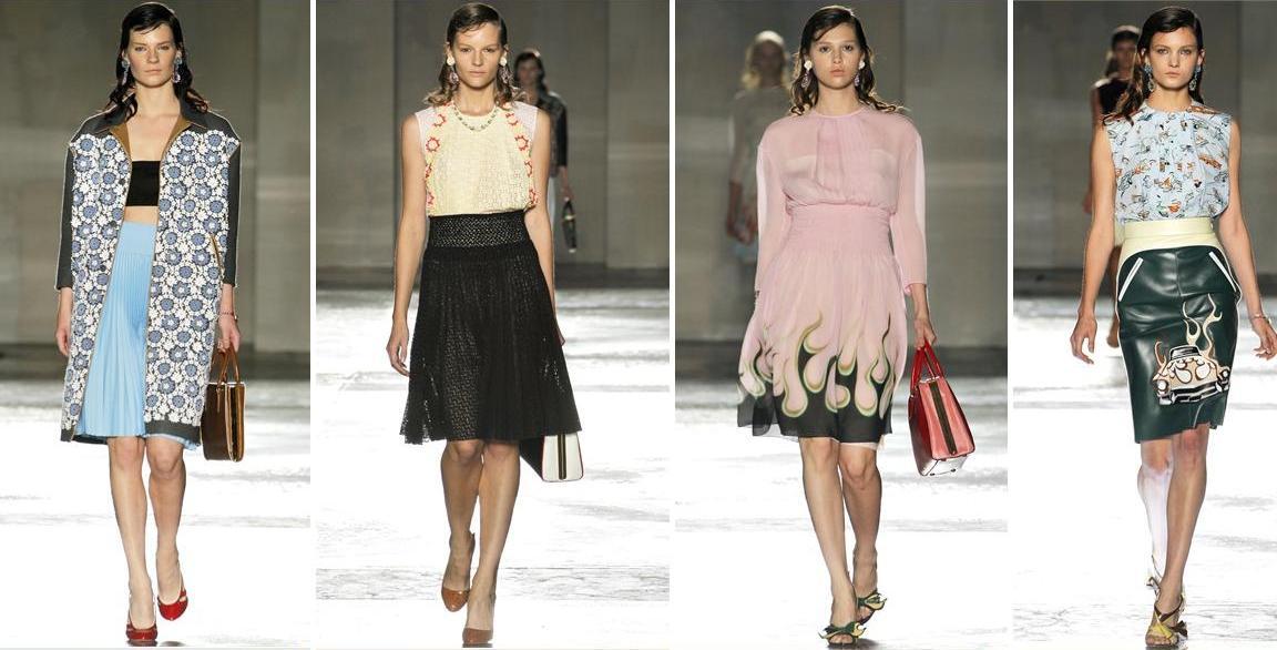 Prada Spring 2012 Collection l Milan Fashion Week