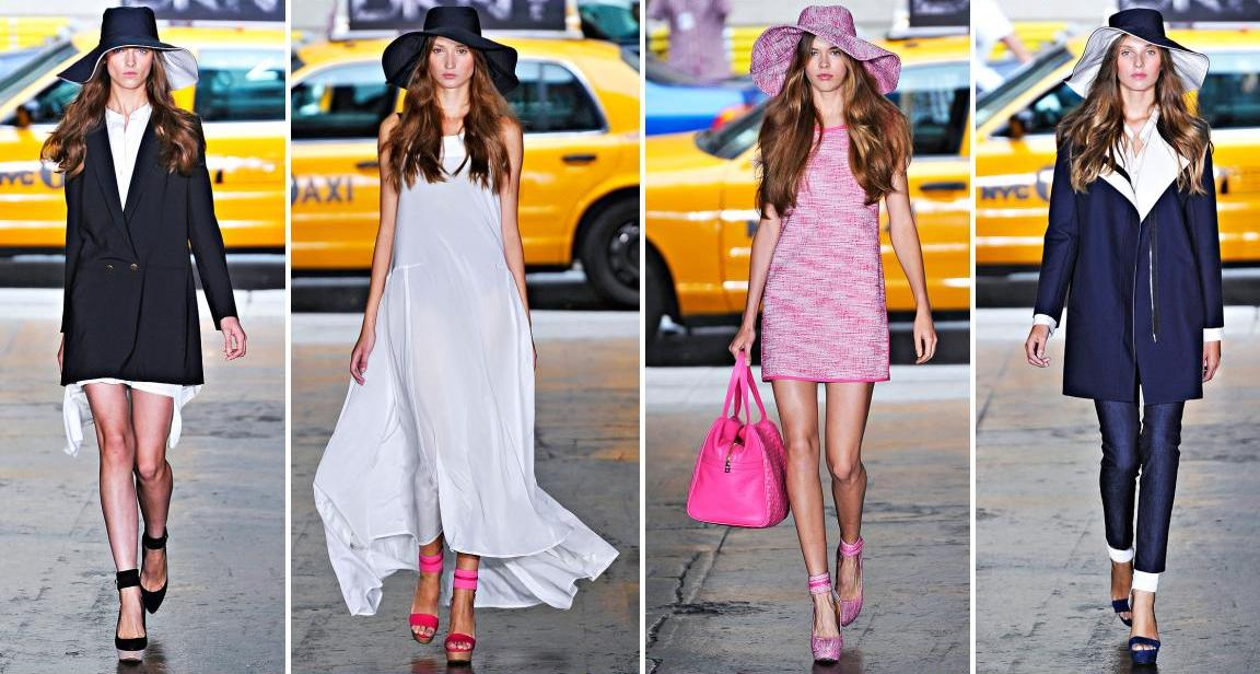 DKNY Spring 2012 Collection l New York Fashion Week |