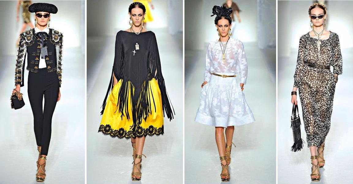 Moschino Spring 2012 Collection l Milan Fashion Week