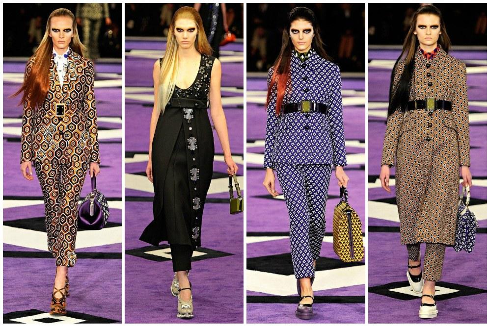 Prada Fall 2012 l Milan Fashion Week |